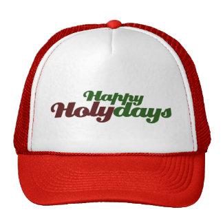 Happy HOLYdays celebrate Jesus Trucker Hat