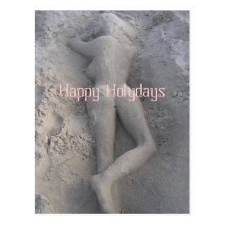 Happy Holydays Postcard