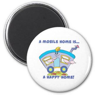 happy home 2 inch round magnet