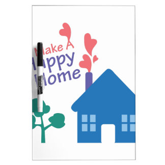 Happy Home Dry-Erase Whiteboards