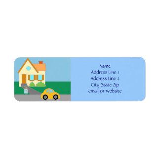 Happy Home Label
