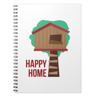 Happy Home Notebook