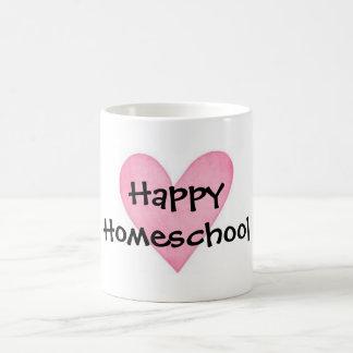 Happy Homeschool Classic White Coffee Mug