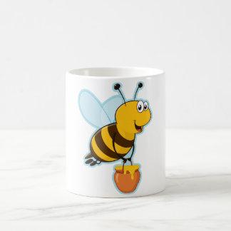 Happy Honey Bee & Honey Pot Coffee Mug