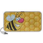 Happy Honey Bee iPhone Speaker