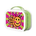 Hand shaped Happy Honeybee Bee Lunch Box