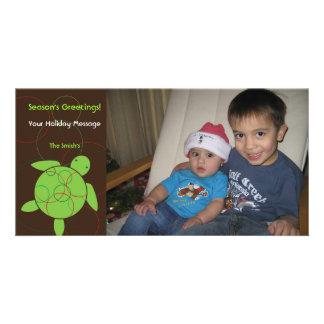 Happy Honu Holiday Christmas Photo Card
