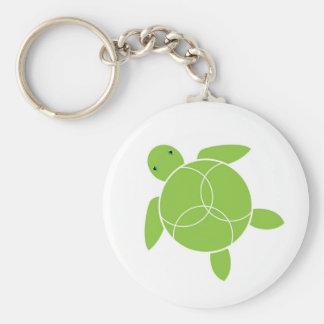 Happy Honu (sea turtle) Keychain