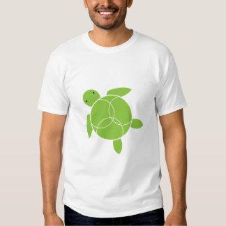 Happy Honu (sea turtle) Organic T-shirt