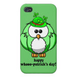 happy hoo patricks day cover for iPhone 4