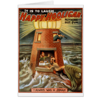 Happy Hooligan Lighthouse Poster Cards