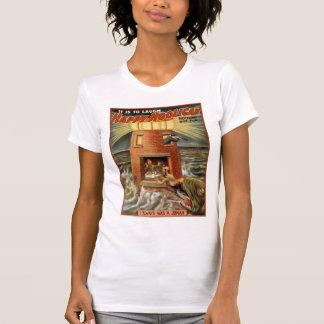 Happy Hooligan Lighthouse Poster T Shirts
