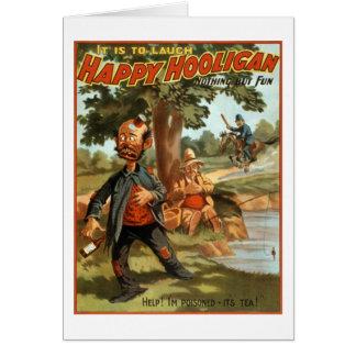 Happy Hooligan - Poisoned by Tea! Card