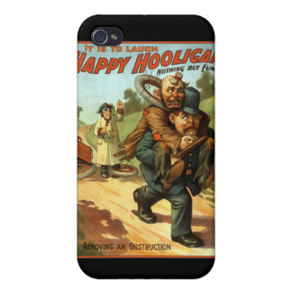 Happy Hooligan - Removing an Obstruction iPhone 4/4S Cases