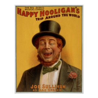 Happy Hooligan's Trip Around the World Posters