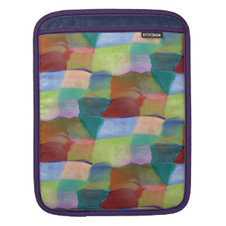 Happy Hopscotch Colorful Artsy Abstract Pattern Sleeve For iPads