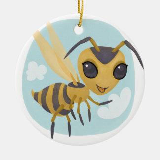 Happy Hornet Christmas Ornament