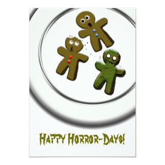Happy Horror-Days! 5x7 Paper Invitation Card
