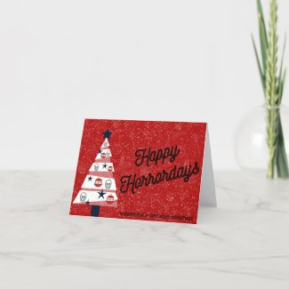Happy Horrordays Spooky Holiday Card