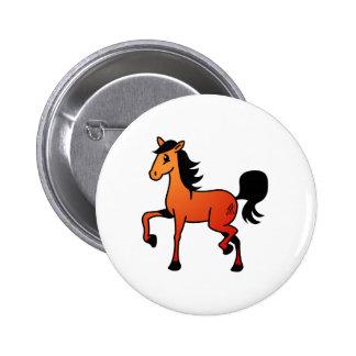 Happy Horse Pinback Button