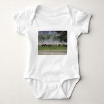 Happy Horses Baby Bodysuit