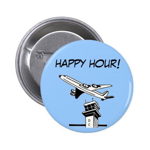 Happy Hour! - Air Traffic Control Pins