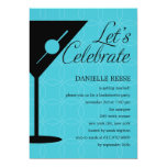 "Happy Hour Bachelorette/Bridal Shower Invitation 5"" X 7"" Invitation Card"