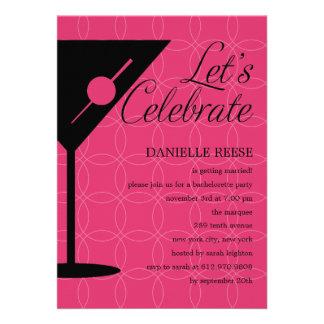 Happy Hour Bachelorette/Bridal Shower Invitation Personalized Announcement