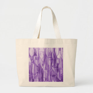 Happy Hour Burgundy by Donna Fayad™ Large Tote Bag