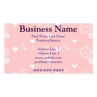Happy Hour Double-Sided Standard Business Cards (Pack Of 100)