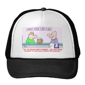 happy hour cartoon characters hats