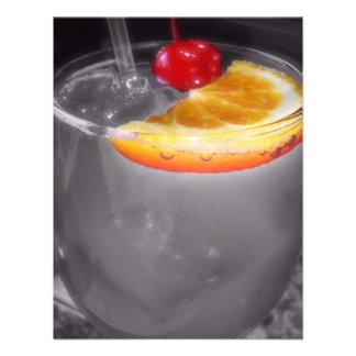 Happy Hour Cocktail Drink Custom Invite
