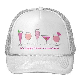 happy hour trucker hats