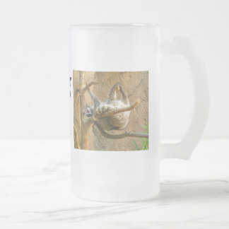 Happy Hour is my Hour~ Kimberly P-Chadwick Frosted Glass Beer Mug