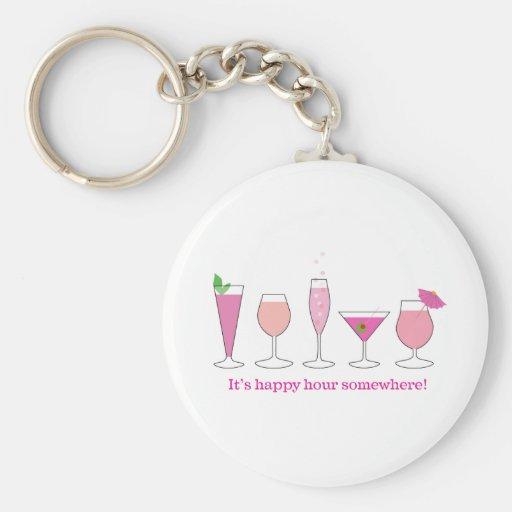happy hour keychain