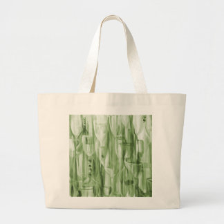 Happy Hour Lime Ricky by Donna Fayad ™ Large Tote Bag