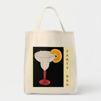 Happy Hour Margarita Drink Cocktail Party Tote Bag