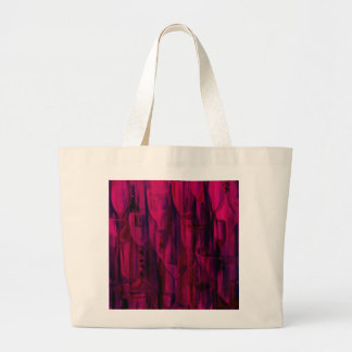 Happy Hour Merlot by Donna Fayad™ Large Tote Bag