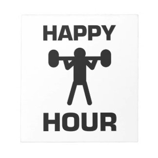 Happy Hour Note Pad