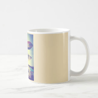 happy hour on the beach coffee mug