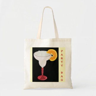 Happy Hour Party Margarita Cocktail Drink Fruit Tote Bag