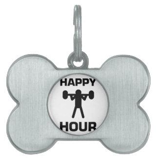 Happy Hour Pet ID Tag