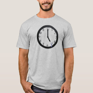 happy hour pocket watch martini clock  five oclock T-Shirt