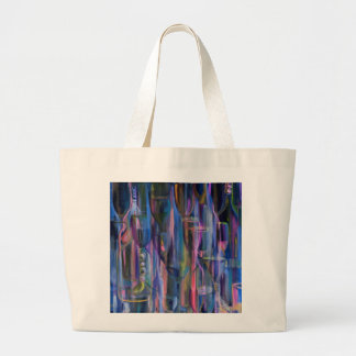 Happy Hour Port by Donna Fayad™ Large Tote Bag