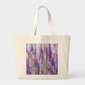 Happy Hour Red Sangria by Donna Fayad™ Large Tote Bag