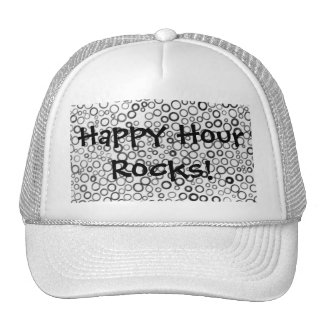 Happy Hour Rocks Tiny Bubbles Cap Hat