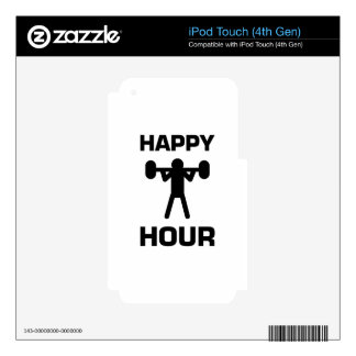 Happy Hour Skins For iPod Touch 4G