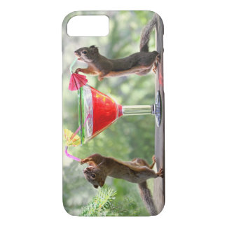 Happy Hour Squirrels iPhone 7 Case