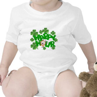 Happy hour St Patrick's design Romper