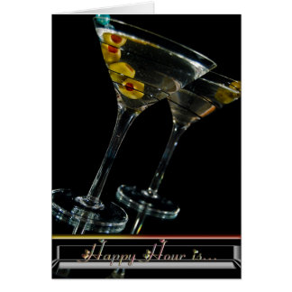 Happy Hour With You Card